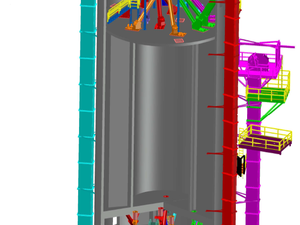 Compact Batch Plant Model